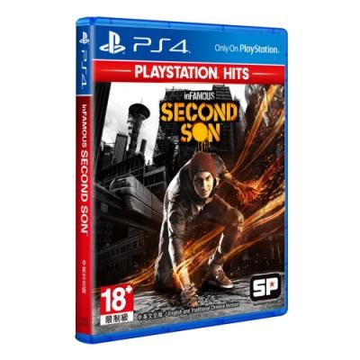 惡名昭彰:第二之子 PlayStation Hits (中英文合版)