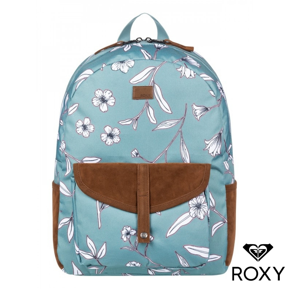 【ROXY】CARRIBEAN 後背包 灰藍