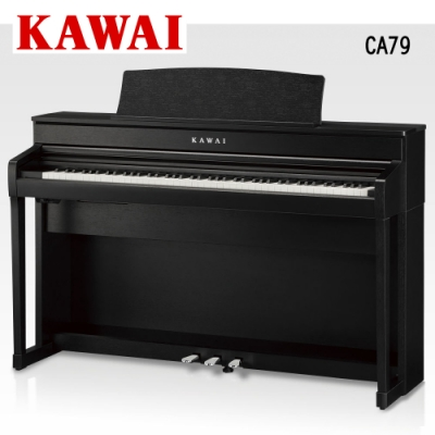 KAWAI CA79 B 88鍵電鋼琴 經典黑色款
