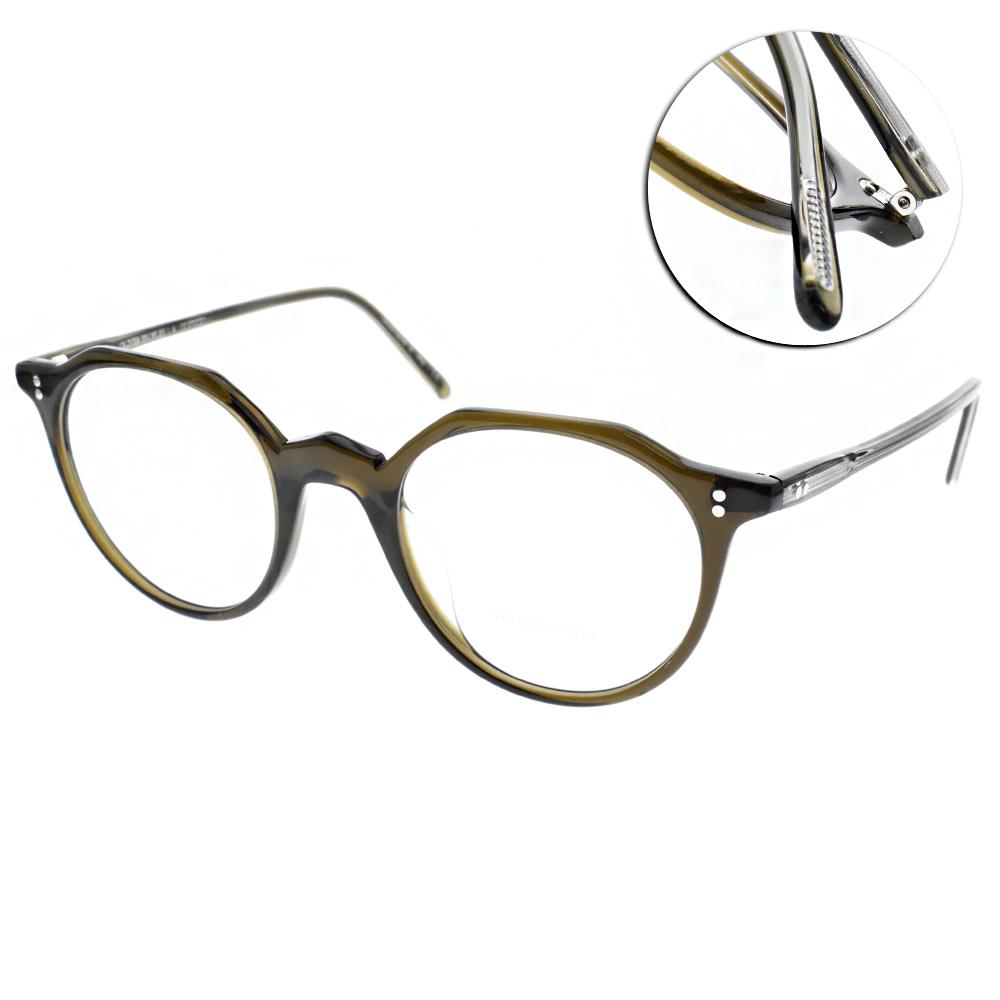 OLIVER PEOPLES 眼鏡 懷舊經典/透墨綠 #L 30TH 1576