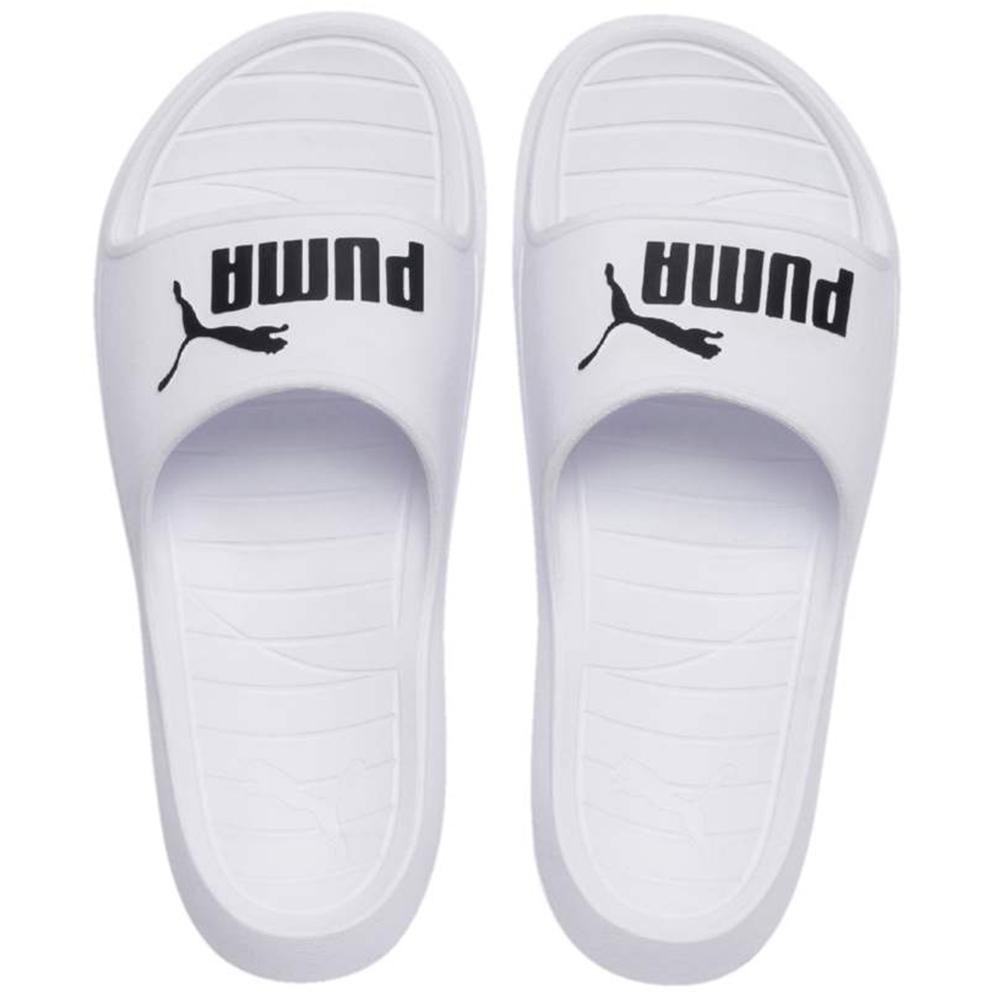 PUMA 拖鞋  運動 男女鞋 白 36940002  Divecat v2