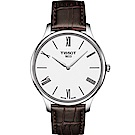 TISSOT T-TRADITION超薄紳士錶(T06340916018000)40mm