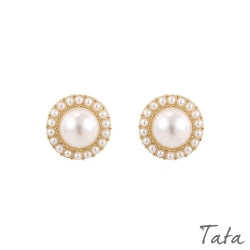 圍繞珍珠造型耳環 TATA
