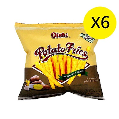 Oishi 薯條-鹽味(50gx6入)