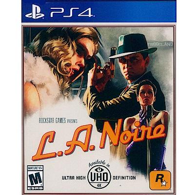 黑色洛城 L.A.Noire - PS4 英文美版