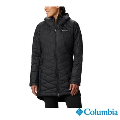 Columbia 哥倫比亞 女款- Omni HEAT 鋁點保暖長版防潑外套-2色 UWR02310