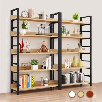 【時時樂限定】慢慢家居 層板可調 - 高品質多功能五層落地置物架 (80x30x182cm)