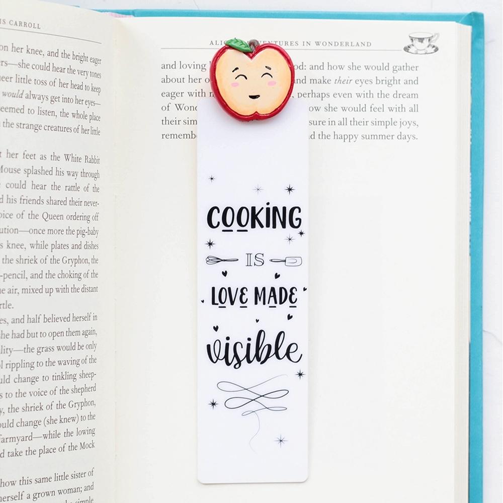 myBookmark手工書籤-紅潤小蘋果