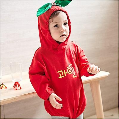 baby童衣 造型連帽立體水果包屁衣 82025