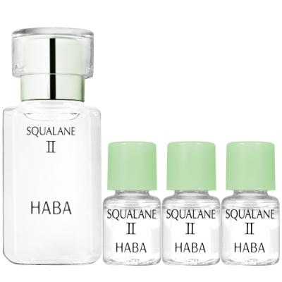 HABA 無添加主義 角鯊精純液II(15ml)+(4ml)*3