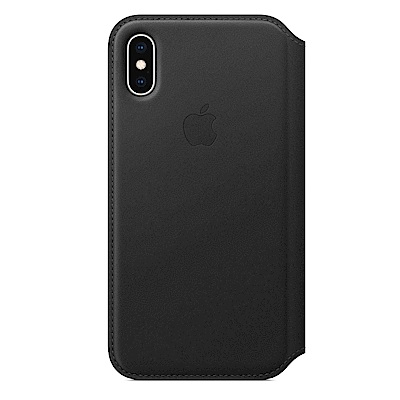 APPLE原廠公司貨iPhone XS Max Folio皮革保護殼