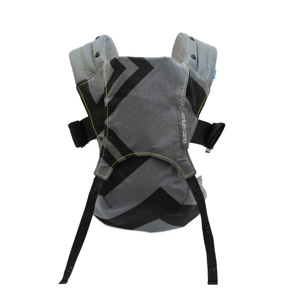 英國 WMM Venture 輕旅揹帶 - 嬰兒版 , 幾何碳灰