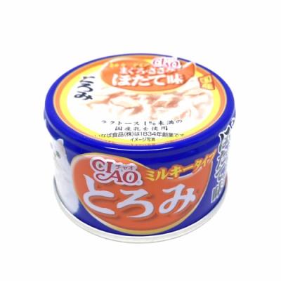 日本 CIAO 多樂米濃湯罐 A-111 鮪魚&雞肉&干貝 80g