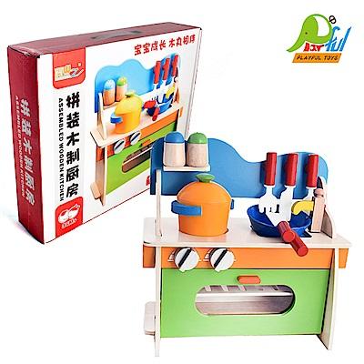 Playful Toys 頑玩具 木製廚房組
