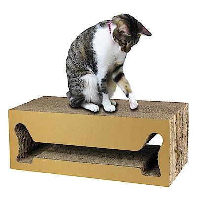Box Meow瓦楞貓抓板- 方塊酥(CS023)
