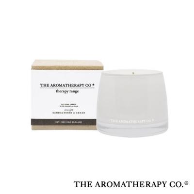 The Aromatherapy Co. 紐西蘭天然香氛 Therapy系列 雪松檀香 Sandalwood and Cedar 260g 香氛蠟燭