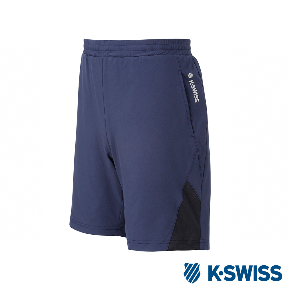 K-SWISS PF Shorts 運動短褲-男-藍