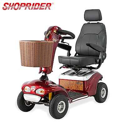 SHOPRIDER TE-888SLB必翔電動代步車(P型把手款)
