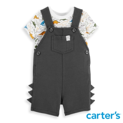 【Carter's】 小小探險家恐龍世界2件組套裝 (6M-24M) 任選 (台灣總代理)