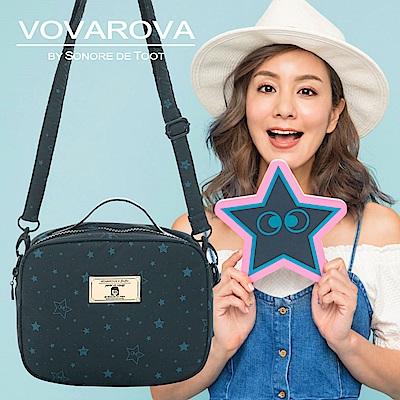 VOVAROVA x 莎莎-厚片吐司側背包-滿天星莎-環遊世界系列