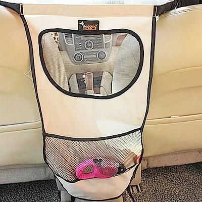 威力鯨車神 汽車椅背多層次透氣收納袋/汽車用寵物圍欄/前後座圍欄