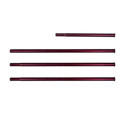 JX 6061鋁合金鎖覆式MIT專利JX33營柱四節330cm-木紋款.高強度營柱