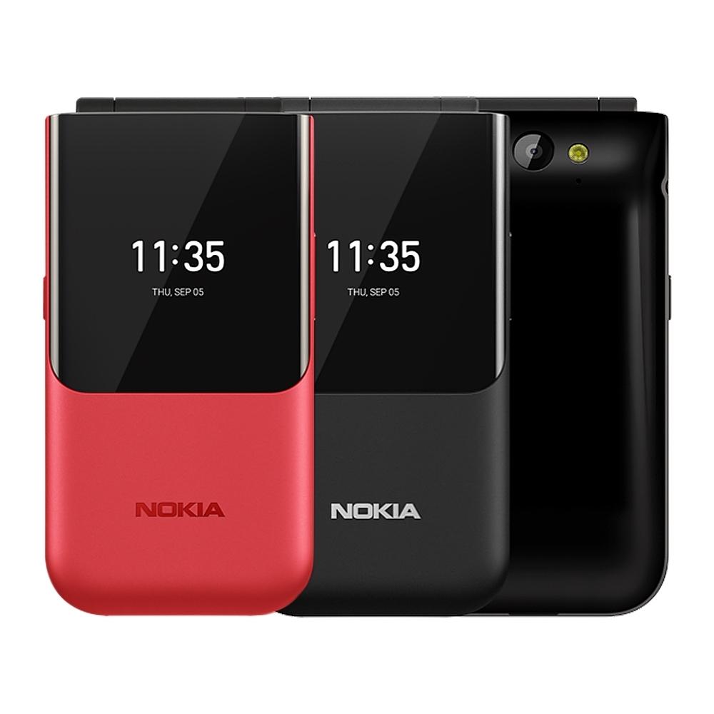 NOKIA 2720 Flip大按鍵大字體4G雙卡經典摺疊手機