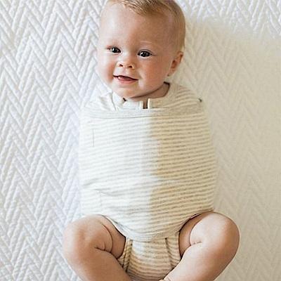 embe 二合一小蜜蜂舒眠包巾-有機棉款 (0-3個月)