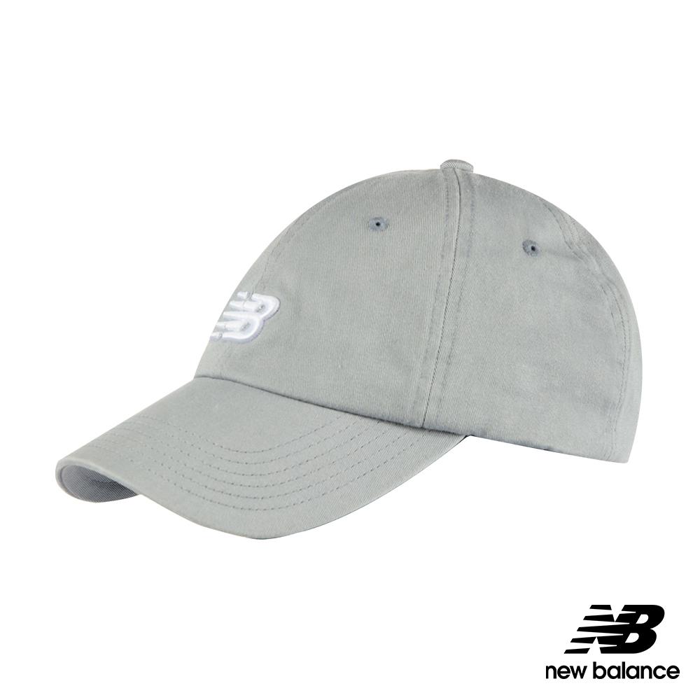New Balance復古棒球帽LAH91014SEL_中性灰色