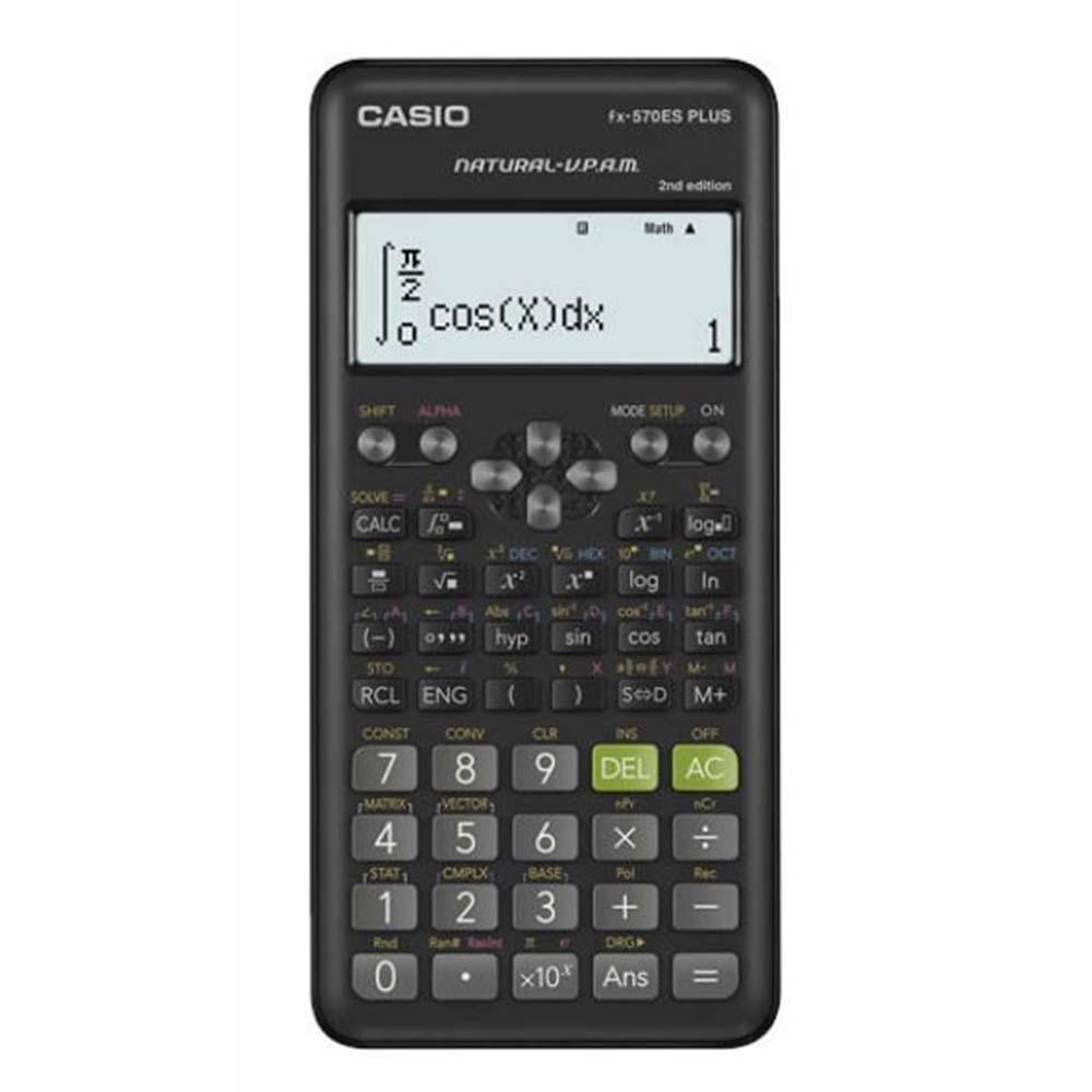 CASIO  第二代12位數標準型計算機 (FX-570ES PLUS-2)