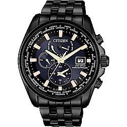 CITIZEN 星辰 光動能電波對時明星配戴限定廣告款(AT9039-51L)