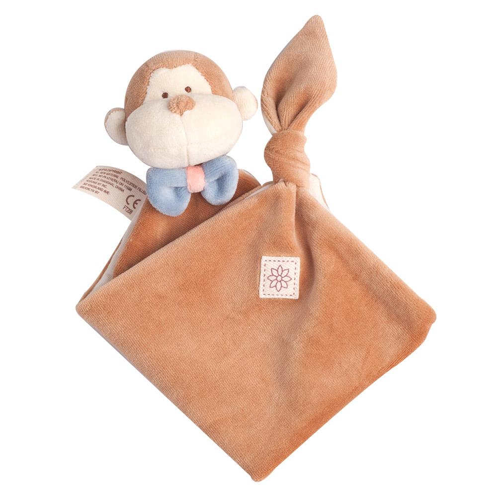 美國miYim有機棉 安撫巾-布布小猴