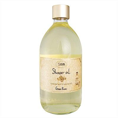 SABON 以色列綠玫瑰沐浴油 500ml
