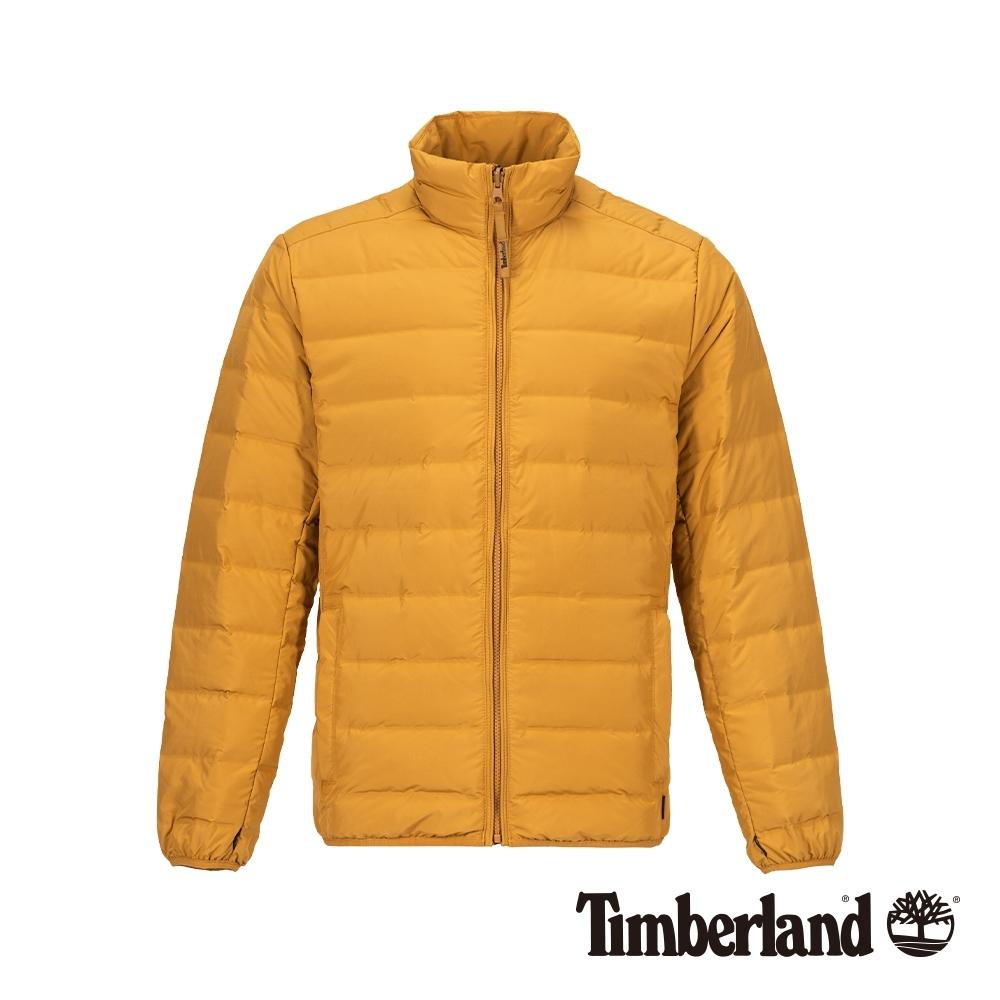 Timberland 男款小麥色保暖立領羽絨外套 A1NDQ