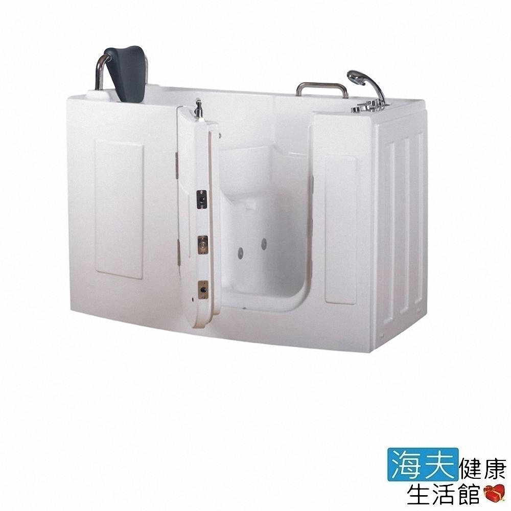 海夫健康生活館 開門式浴缸 107-T 恆溫水柱按摩款 (140*76*98cm)