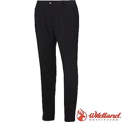 Wildland 荒野 S1381-54黑色 女四向彈性抗UV長褲