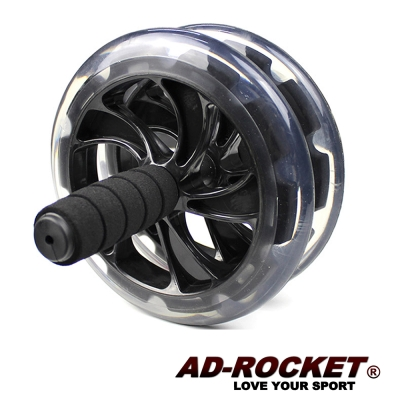 AD ROCKET 超靜音滾輪健身器 健腹器 滾輪 腹肌 - 加大款