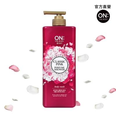 ON THE BODY 粉紅甜心香水沐浴精 900g