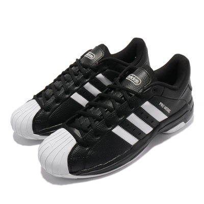 adidas 籃球鞋 Pro Model 2G Low 運動 男鞋 海外限定 愛迪達 避震 包覆 支撐 球鞋 黑 白 FX4980