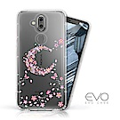 EVO CASE Nokia 8.1 奧地利水鑽彩繪防摔殼-櫻月
