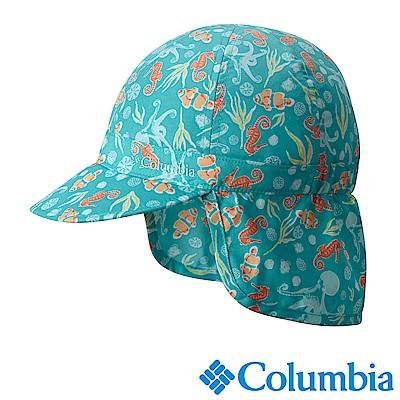 Columbia 哥倫比亞 兒童-防曬30遮陽帽-湖水藍 UCY00570