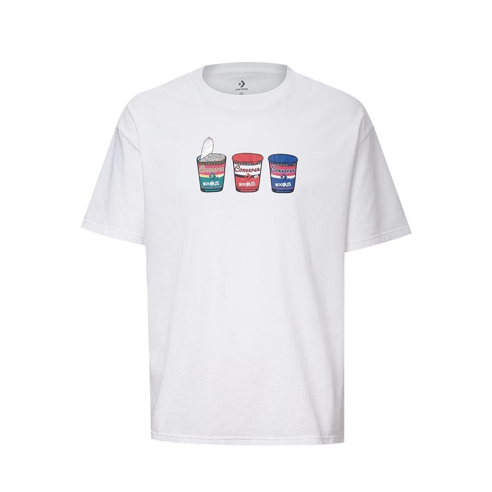 CONVERSE HYPER LOCAL FOOD GRAPHIC男 短袖上衣 白 10020853-A01