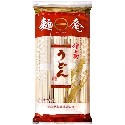 伊之助製麺 麵一庵烏龍麵(720g)