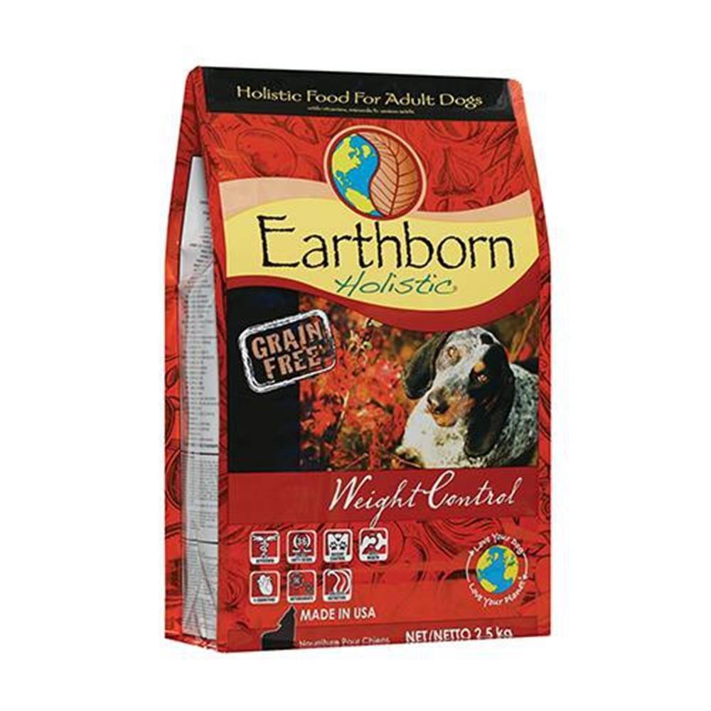 Earthborn原野優越-體重控制低敏無穀犬-雞肉+蘋果+小紅莓 2.5KG (EB-1171) 兩包組
