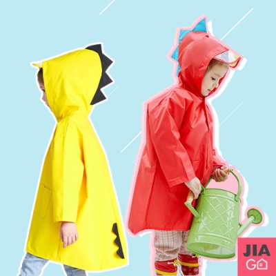 JIAGO 立體小恐龍兒童雨衣