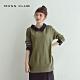 【MOSS CLUB】日系學院風襯衫領-針織衫(黃色)