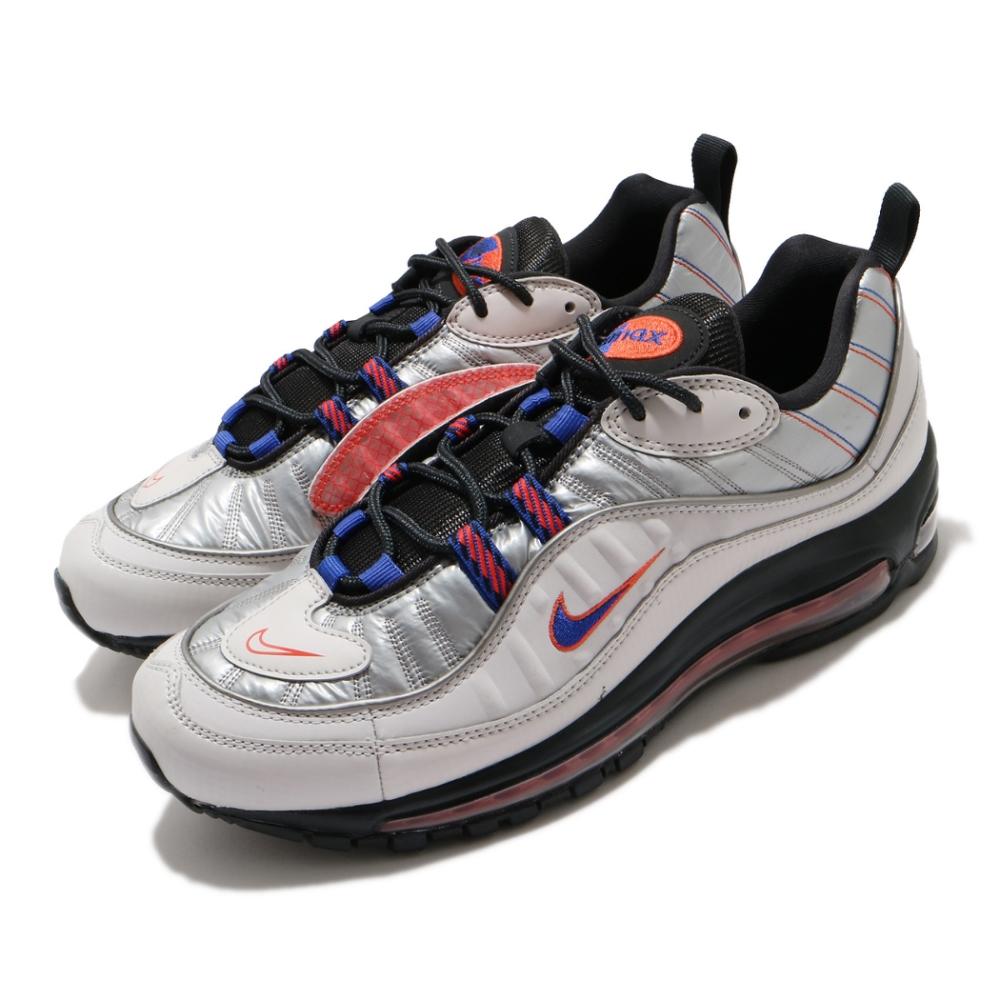 Nike 休閒鞋 Air Max 98 NRG 運動 男鞋 氣墊 避震 經典款 反光 側面可拆式設計 灰 銀 BQ5613001