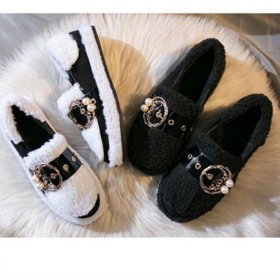 KEITH-WILL時尚鞋館 日系清甜毛毛鞋