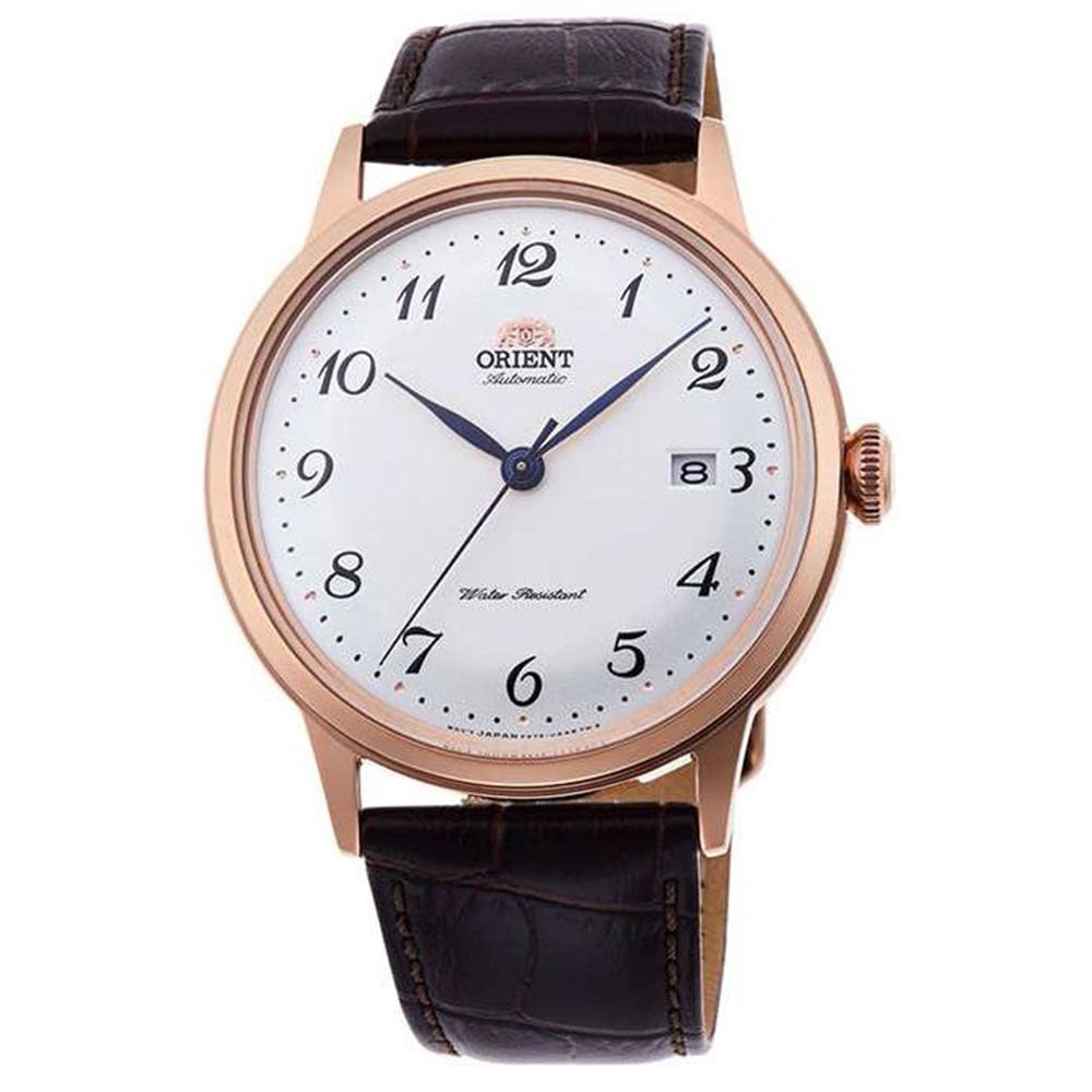 ORIENT東方錶 城市光景鏤空自動上鍊機械錶(RA-AC0001S10B)-白x40mm