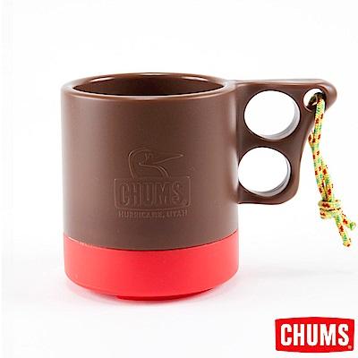 CHUMS-露營野餐 保溫保冷馬克杯 棕/紅 ( 250ml)